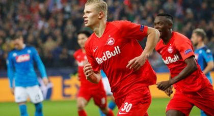 Red Bull Salzburg name their asking price for star striker Erling Haaland with Manchester United and Liverpool interested
