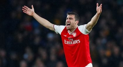 Arsenal defender Sokratis reveals that the Gunners are lacking confidence