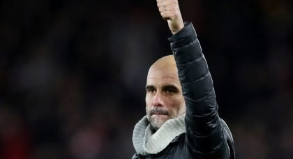 Manchester City boss Pep Guardiola described his side's performance 'incredible' despite losing 3-1 to Premier League rivals Liverpool