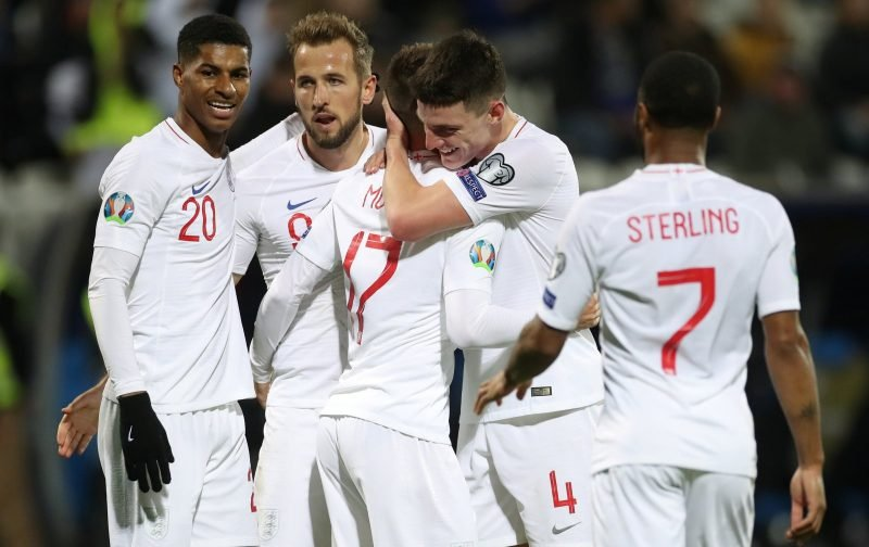 Which countries England could face in Euro 2020 group stage