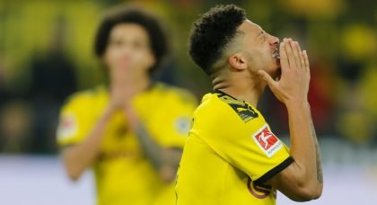 Jadon Sancho could leave Borussia Dortmund for Manchester United as early as January