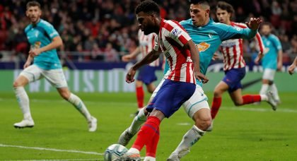 Mikel Arteta hoping to make transfer statement as Arsenal are in talks with Atletico Madrid over a January move for Thomas Lemar