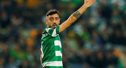 Manchester United on the verge of sealing deal for Bruno Fernandes