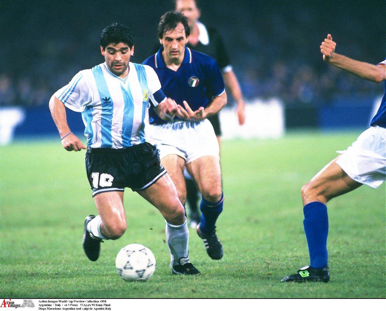 Maradona thinks Lionel Messi won the World Cups Golden