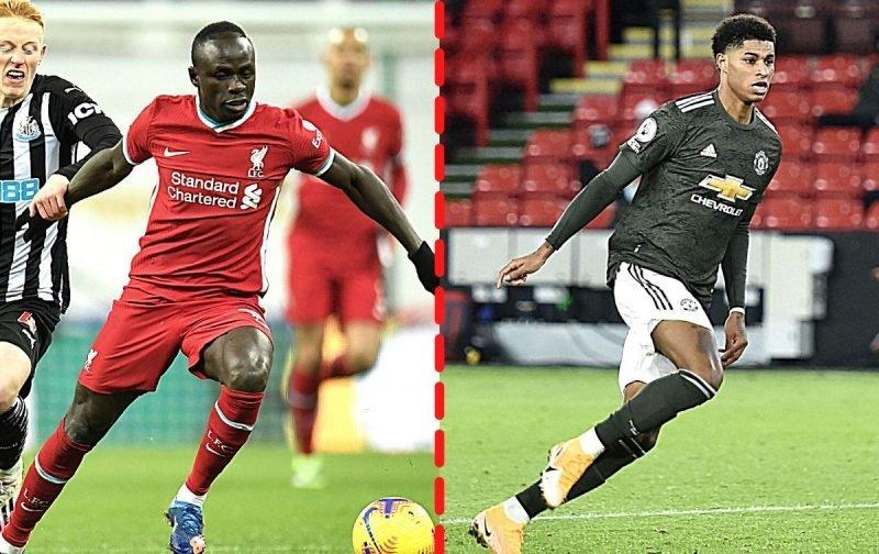 Premier League Head-to-Head: Sadio Mane (Liverpool) vs Marcus Rashford  (Manchester United) | Shoot - Shoot